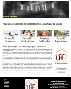 Master Implantología Oral