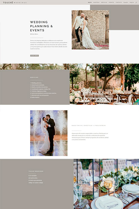 pagina web wedding planner